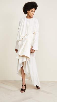 Awake Shirt Sleeve Wrap Dress