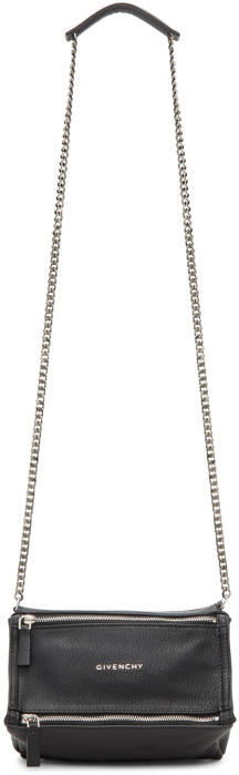 Givenchy Black Mini Chain Pandora Bag