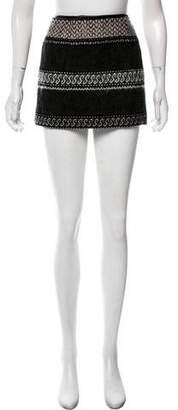 Edun Tweed Mini Skirt
