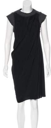 Bottega Veneta Sleeveless Draped Dress