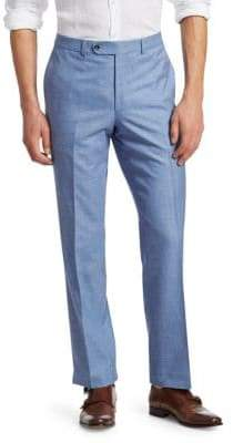 Saks Fifth Avenue COLLECTION Flat Front Trousers