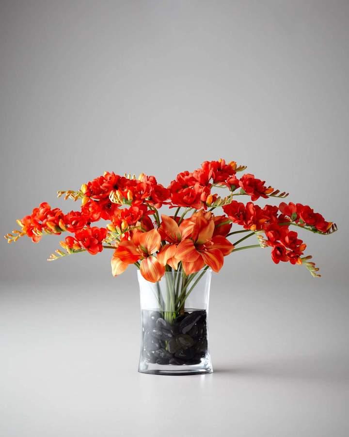 John-Richard Collection Freesia Charisma Faux Floral Arrangement