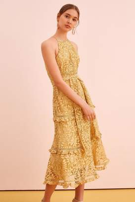 Keepsake Lace Midi Dress