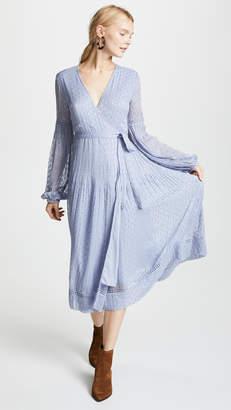 Luella Steele Wrap Dress