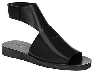 Via Spiga Briar Leather Ankle-Strap Sandals