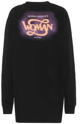 Off-White Woman cotton sweater dress