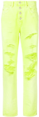 Amiri distressed slouch jeans