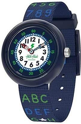 Flik Flak Boys Analogue Quartz Watch with Textile Strap FBNP132