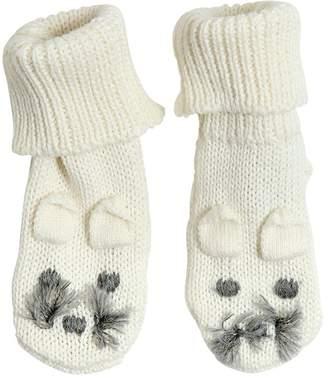Stella McCartney Mouse Cotton & Wool Knit Socks
