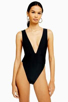 540b5539d3f Plunging Neckline Swimsuit - ShopStyle