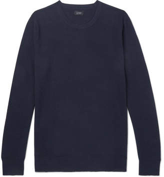 J.Crew Cotton And Cashmere-Blend Piqué Sweater