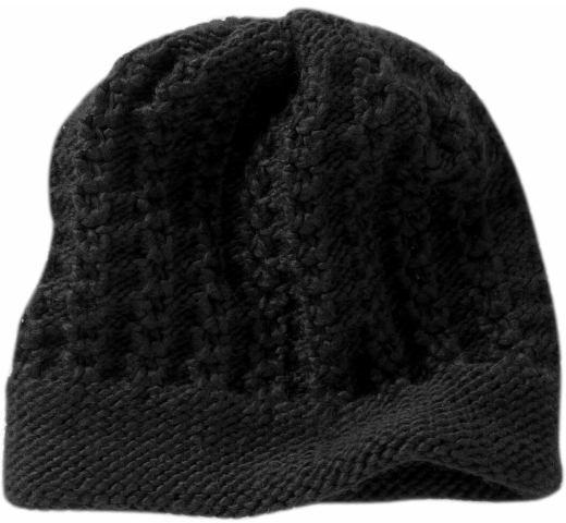 Sweater knit beanie