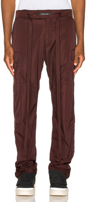 Fear Of God Nylon Cargo Pant in Merlot | FWRD