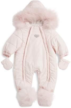Baby Essentials Bimbalo Diamante Heart Snowsuit