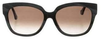 Balenciaga Marbled Oversize Sunglasses