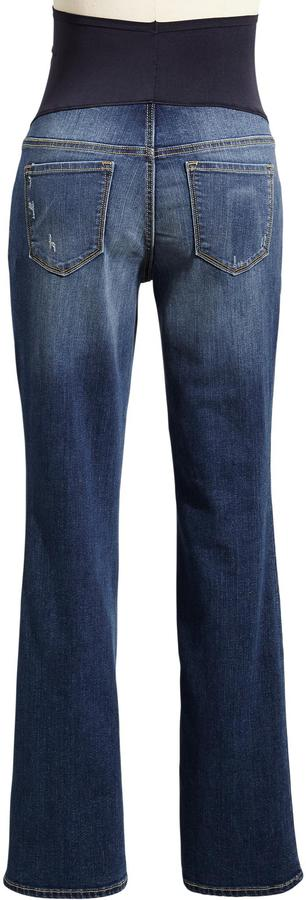 Old Navy Maternity Full-Panel Slim Boot-Cut Jeans