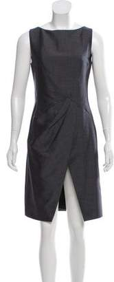 Christian Dior Sleeveless Wool-Mohair Dress