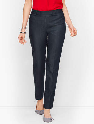 Talbots Cotton Bi-Stretch Pant - Polished Denim - Curvy Fit