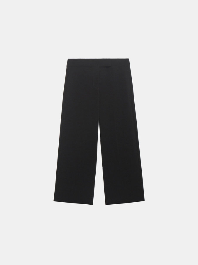 DKNYWide Leg Cropped Pant