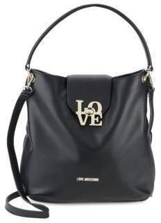 Love Moschino Love-Lock Hobo Bag