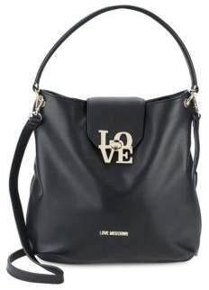 Love MoschinoLove-Lock Hobo Bag