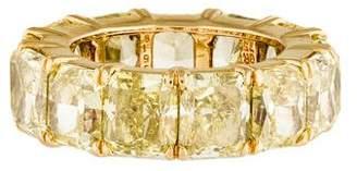Harry Winston Yellow Diamond Eternity Band