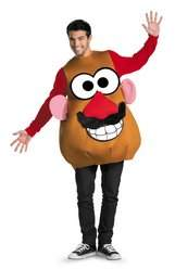 Disguise Mr. or Mrs. Potato Head Deluxe Adult Costume - Standard (42-46)