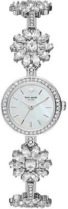 Stainless daisy chain watch $295 thestylecure.com