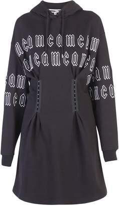 McQ Black Branded Dress