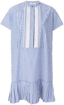 Paul Smith striped drop pleat dress