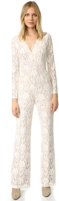 Ella Moss Trello Lace Jumpsuit $298 thestylecure.com