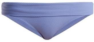 Heidi Klein Portinatx Foldover Bikini Briefs - Womens - Blue