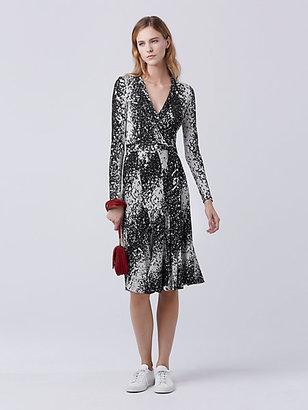Lilyann Silk Jersey Wrap Dress $598 thestylecure.com