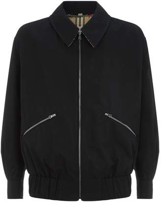 Burberry Collared Bomber Jacket