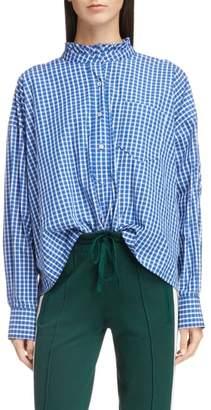 Etoile Isabel Marant Olena Ruffle Neck Shirt