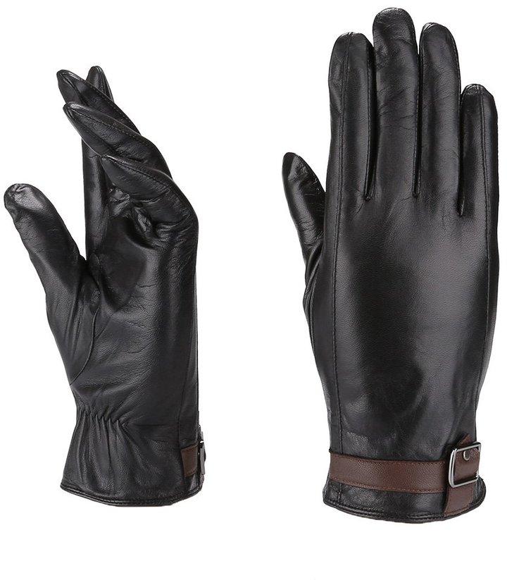 Moda Men's Mr.Albany Genuine Leather Gloves