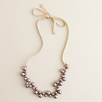 J.Crew Girls' apple pearl necklace