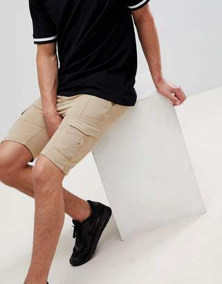 Soul Star jersey cargo shorts