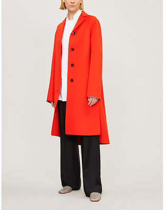 Jil Sander Guatemala notch-lapel cashmere coat