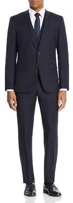 HUGO BOSS BOSS Huge/Genuis Tonal Micro-Checked 3-Piece Slim Fit Suit