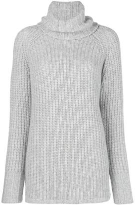 Incentive! Cashmere turtleneck cable knit jumper