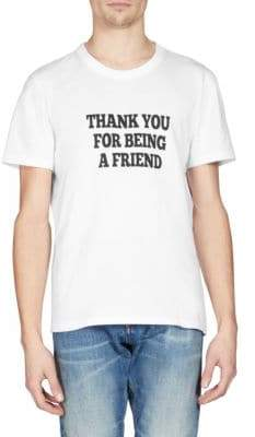 Ami Thank You For Being A Friend Cotton T-Shirt