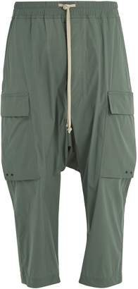 Rick Owens Pantaloni cargo cropped trousers