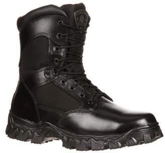 Rocky Men's Alpha Force 8 Inch Side Zip Steel Toe Work Boot