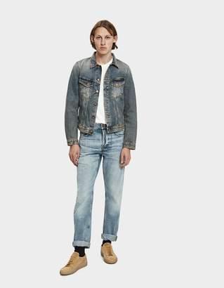 Nudie Jeans Billy Shimmering Indigo Denim Jacket