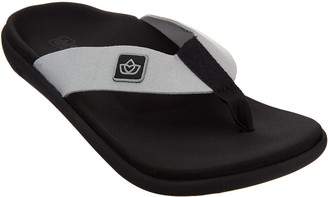 Spenco Orthotic Memory Foam Thong Sandals -Pure