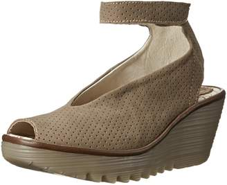 Fly London Women's Yala Perf Wedge Pump
