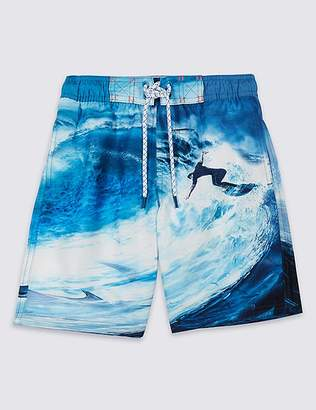 Marks and Spencer Swim Shorts with Sun Safe UPF50+ (3-16 Years)