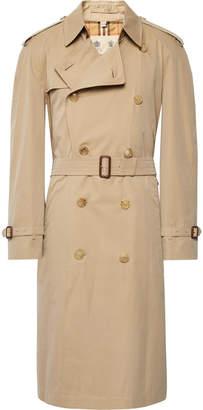 Burberry Shadwell Cotton-Gabardine Trench Coat