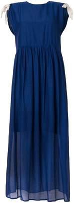 Semi-Couture Semicouture layered sleeveless midi dress